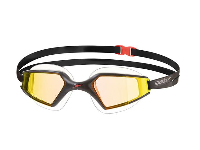 speedo Aquapulse Max Mirror 2 duikbrillen zwart/goud